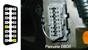 Acura OBDII connector
