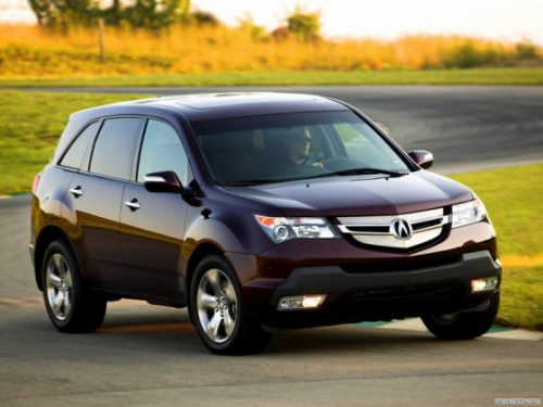 acura mdx review of the japanese crossover. Black Bedroom Furniture Sets. Home Design Ideas