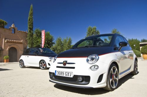 Exterior of Abarth 500C