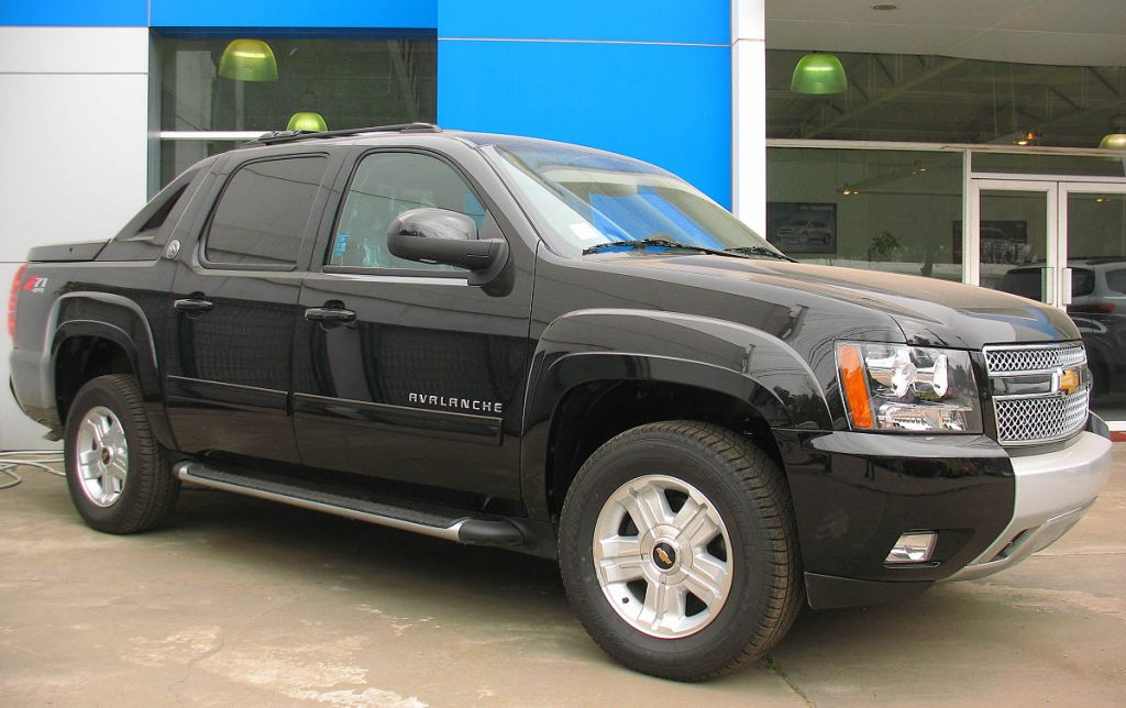 Chevrolet Avalanche Service Manuals