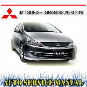 mitsubishi grandis service manual