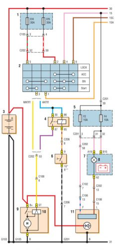 chevrolet lacetti electrical wiring diagrams free download chevy tail light wiring diagram chevrolet lacetti wiring diagram #4