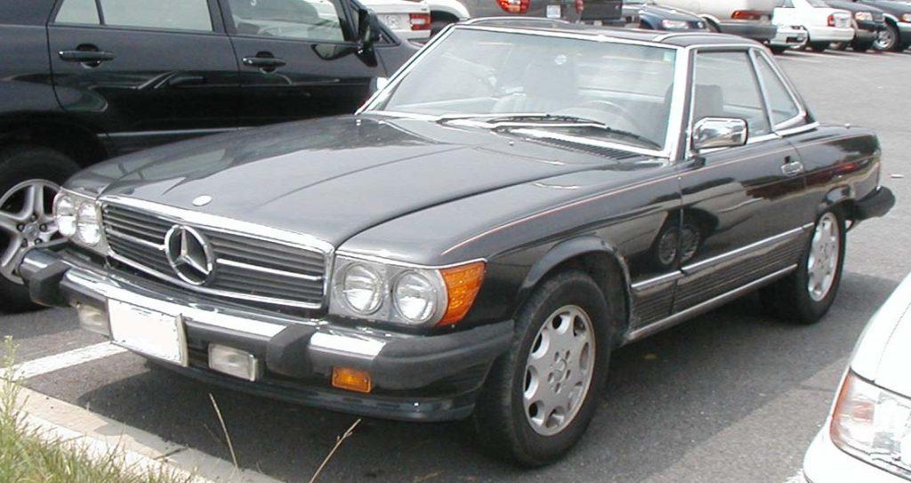 1986-1989 Mercedes-Benz 560 SL