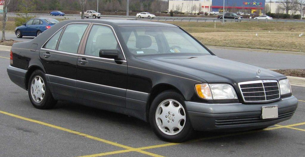1995-1996 Mercedes-Benz S-Class