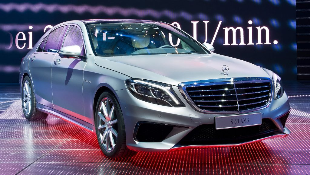 Mercedes-Benz S 63 AMG PDF manuas