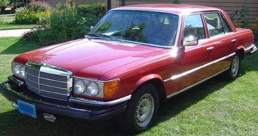 Mercedes-Benz W116 PDF Service Manuals