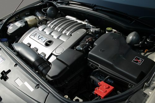Citroën C6 V6 engine
