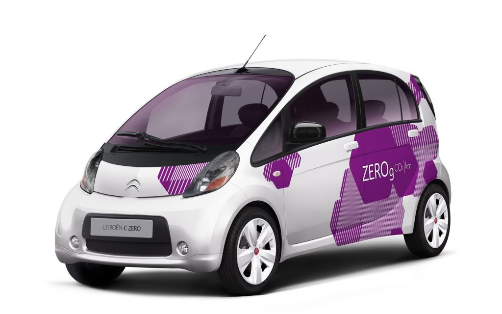 Citroen C-Zero PDF Service Repair Manuals
