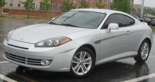 Hyundai Tiburon F/L2 (2007—2008) (US)