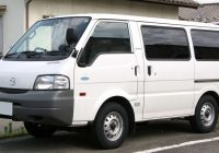 Mazda Bongo Workshop Manuals